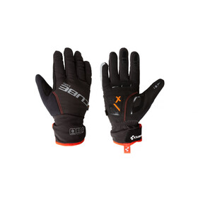 Cube Natural Fit X-Shell Langfinger Handschuhe red'n'black